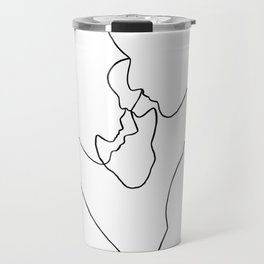 Lovers - Line Drawing Travel Mug