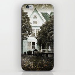 Haunted Hauntings Series - House Number 3 iPhone Skin