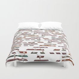 Life's a Game (remix) Duvet Cover