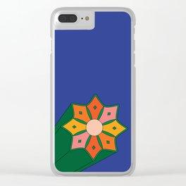 Summer Starburst Clear iPhone Case