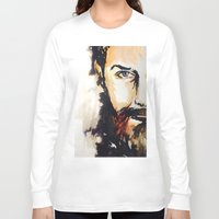 neil gaiman Long Sleeve T-shirts featuring Simon Neil  by madbiffymorghulis