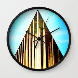 Magic Triangle Wall Clock