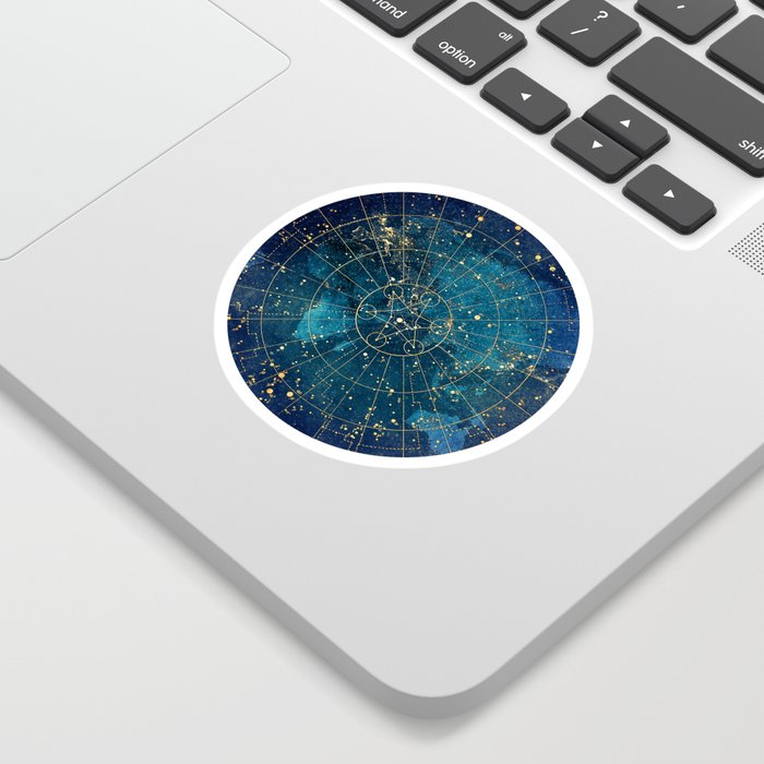 Star Map :: City Lights Sticker