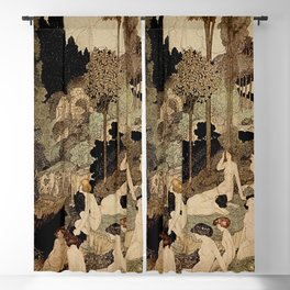 """""""Autumn Interlude"""" by Charles Robinson Blackout Curtain"""