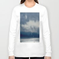 aperture Long Sleeve T-shirts featuring The Sky Resting on Water by Jane Lacey Smith