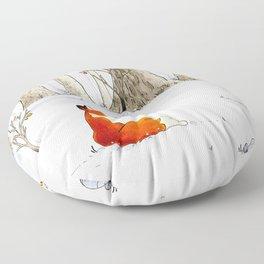 Redfox Floor Pillow