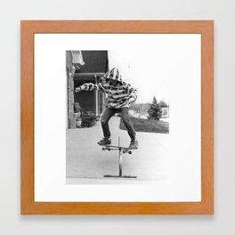 Boardslide Framed Art Print