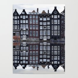 Amsterdam houses 1. Poster