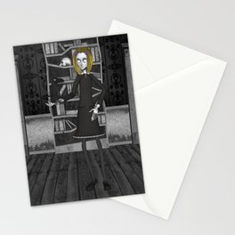 Lenore And The Raven Nevermore Stationery Cards