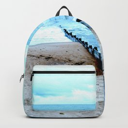Outlook over the North Sea Backpack
