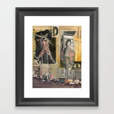 Oh! Oh. Framed Art Print