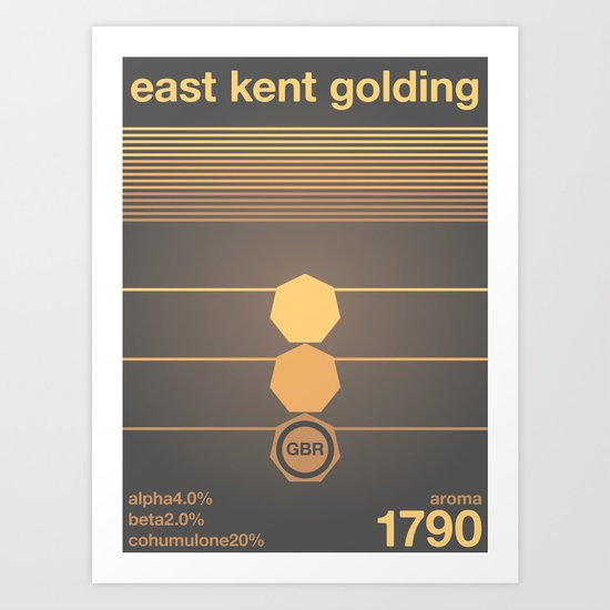 east kent golding single hop Art Print
