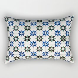 Vintage Portuguese tiles Rectangular Pillow