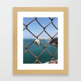 I left my heart in San Francisco Framed Art Print