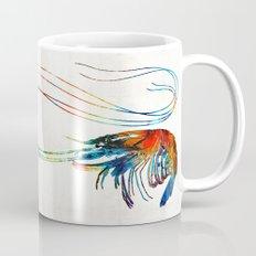 Colorful Shrimp Art by Sharon Cummings Mug