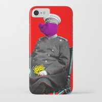 general iPhone & iPod Cases featuring General Schweinebacke by Marko Köppe