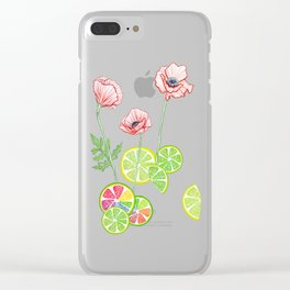 Fruity Blooms! Clear iPhone Case