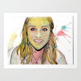Payton 2 Art Print