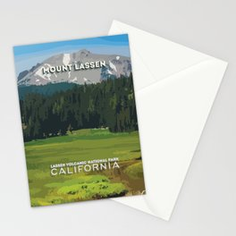 Mount Lassen Stationery Cards