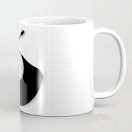 Rock Music Silhouette Record Coffee Mug