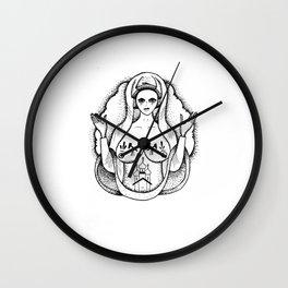 Russian Tattoes # 1 Wall Clock