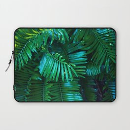 Green Palm Leaves Laptop Sleeve