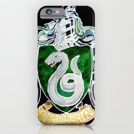 Slytherin Crest iPhone Case