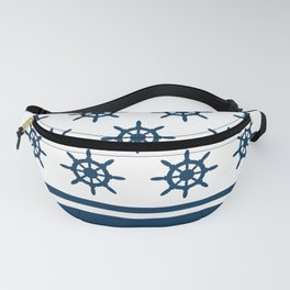 Sailing wheel pattern Fanny Pack