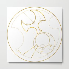 Hello Sweetie from Gallifrey Metal Print