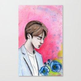 Jin   BTS Canvas Print