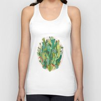 cacti Tank Tops featuring Cacti by Gaby D'Alessandro