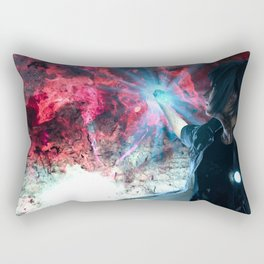 Final Fantasy XV - Noctis and the Ring of Lucii Rectangular Pillow