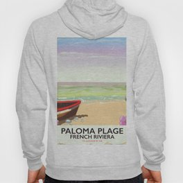 Paloma Plage, French Riviera Hoody