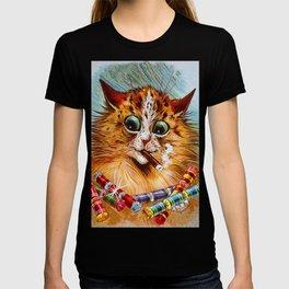 "Louis Wain's Cats ""Tom Smith's Crackers"" T-shirt"