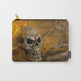 Skull And Sackcloth Carry-All Pouch