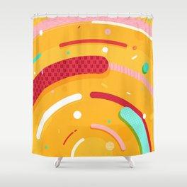 Japanese Patterns 08 Shower Curtain