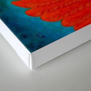 Wind god Canvas Print