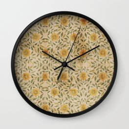 Flower for my Love Wall Clock