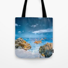Spin Beach Tote Bag