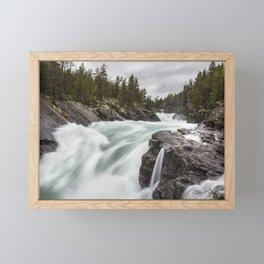 Raging River V Framed Mini Art Print
