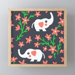 Elephant Framed Mini Art Print