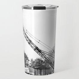 An old crane Travel Mug