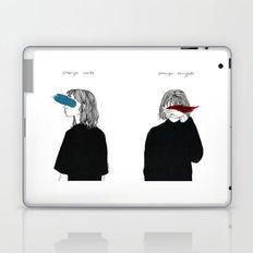 Strange Words, Stranger Thoughts Laptop & iPad Skin