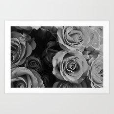 Black Hearted  Art Print