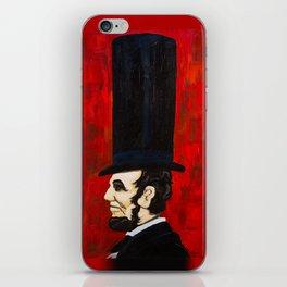 Abraham Lincoln -f iPhone Skin
