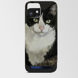 Cat Eightball iPhone Card Case