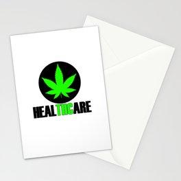 Cannabis THC 420 Legalization Amsterdam Stationery Cards