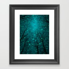 One by One, the Infinite Stars Blossomed Framed Art Print