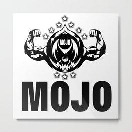 MOJO FITNESS  Metal Print