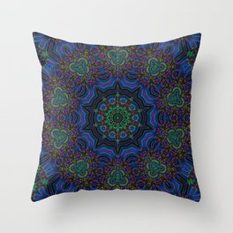 Kinetic Colors 4-83 Throw Pillow